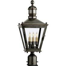 E. F. Chapman Sussex 3 Light 24 inch Bronze Outdoor Post Lantern