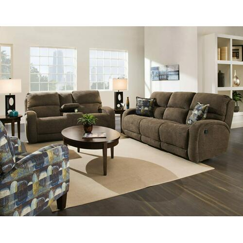 Double Reclining Loveseat with Pillows