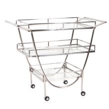Stainless Steel Bar Cart on Castors