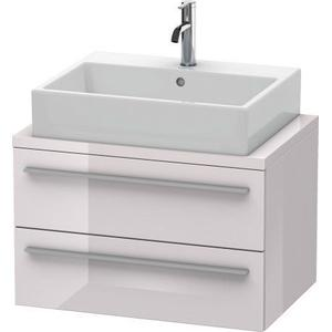 Vanity Unit For Console Compact, White Lilac High Gloss (lacquer)