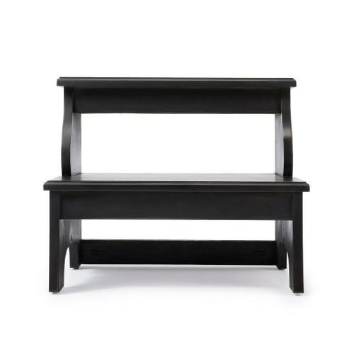Butler Specialty Company - This artisan-crafted step stool was designed to provide that extra step-up. Equally well-suited for use beside the bed, in the den or kitchen, it may be used wherever a little extra reach is needed. Finished in Brushed Sable.
