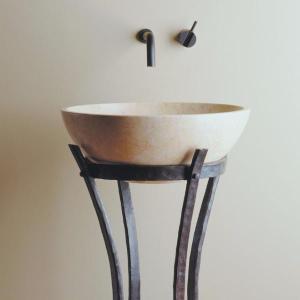 Iron Ribbon Pedestal Product Image