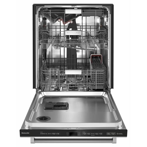 Gallery - 44 dBA Dishwasher with FreeFlex™ Third Rack and LED Interior Lighting - Stainless Steel with PrintShield™ Finish