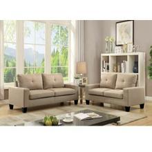 ACME Platinum II Sofa & Loveseat - 52740 - Beige Linen