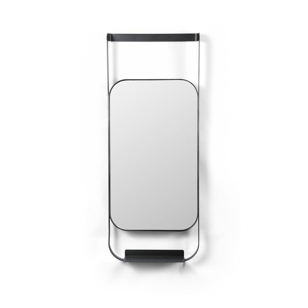 Luther Entry Mirror-brushed Gunmetal