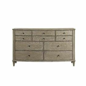 ACME Wynsor II Dresser - 27735 - Transitional - Wood (Pine/Poplar), Wood Veneer (Oak), MDF,PB - White-Washed