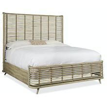 Bedroom Surfrider Queen Rattan Bed