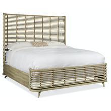 Bedroom Surfrider California King Rattan Bed