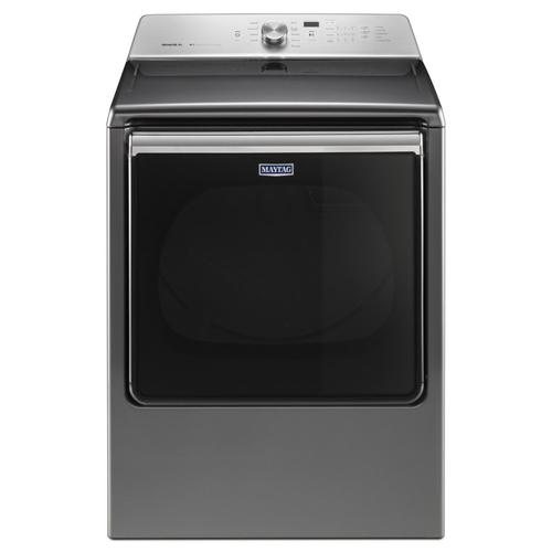 8.8 cu. ft. Extra-Large Capacity Dryer with Advanced Moisture Sensing Metallic Slate