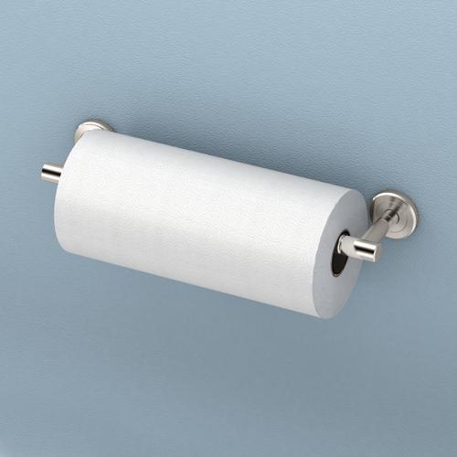Latitude2 Paper Towel Holder in Satin Nickel