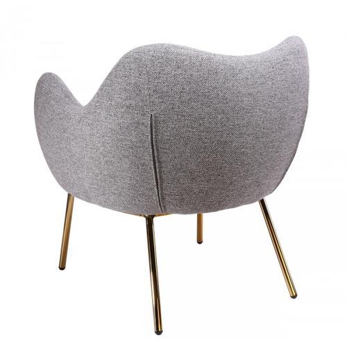 Gallery - Modrest Cicero - Modern Grey Accent Chair