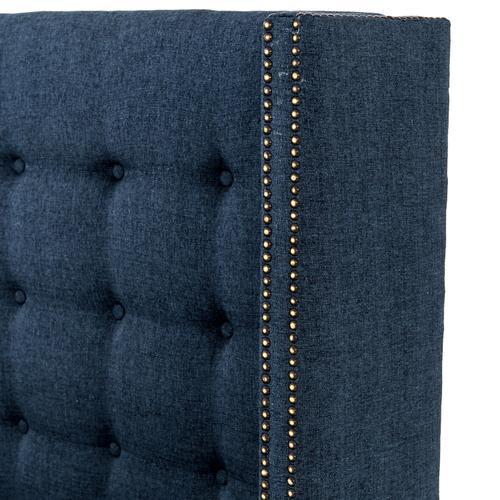 Queen Size Indigo Cover Jefferson Bed