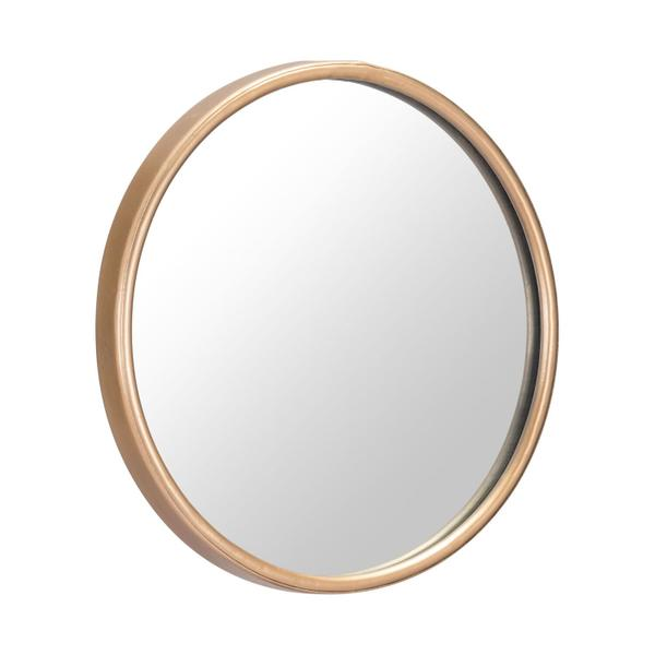 See Details - Small Ogee Mirror Gold