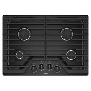 30-inch Gas Cooktop with EZ-2-Lift™ Hinged Cast-Iron Grates Product Image