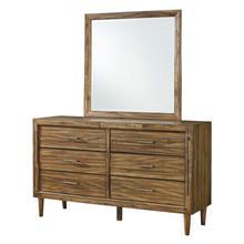Broshtan Bedroom Mirror Light Brown