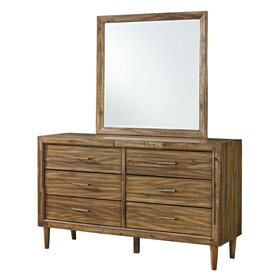 Broshtan Bedroom Mirror Light Brown