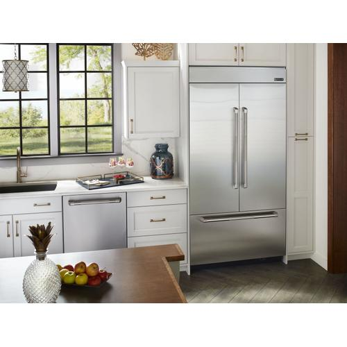 """JennAir - Pro-Style® 24"""" Built-In TriFecta™ Dishwasher, 38dBA Pro Style Stainless"""