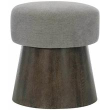 View Product - Linea Round Bench in Cerused Charcoal (384)
