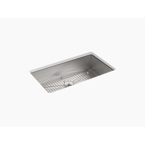 "33"" X 22"" X 9-5/16"" Top-mount/undermount Large Single-bowl Kitchen Sink With Single Faucet Hole"