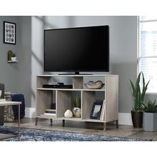 See Details - TV Stand with Divided Storage Shelves