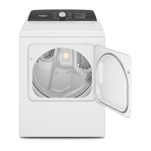 Whirlpool - 7.0 Cu. Ft. Top Load Gas Moisture Sensing Dryer with Steam