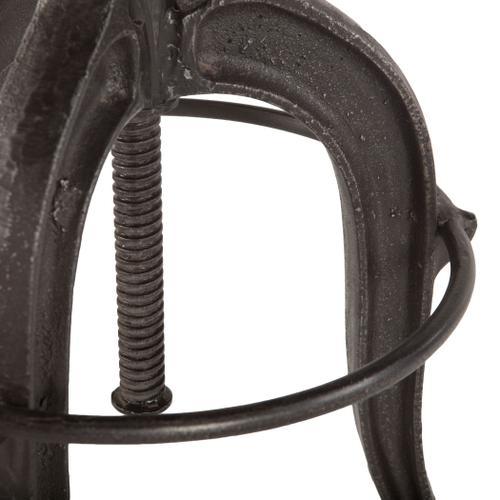 Industrial Teak Adjustable Reclaimed Wood Stool