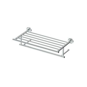 Latitude2 Minimalist Towel Rack in Chrome Product Image