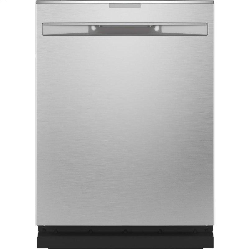 Fingerprint Resistant Top Control with Stainless Steel Interior Dishwasher with Sanitize Cycle & Dry Boost with Fan Assist