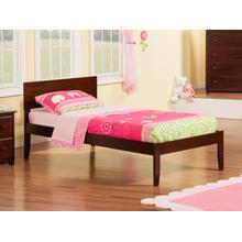 View Product - Orlando Twin Open Foot Walnut