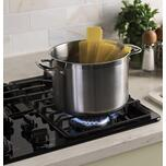 """GE 36"""" Built-In Gas Cooktop with Dishwasher-Safe Grates"""