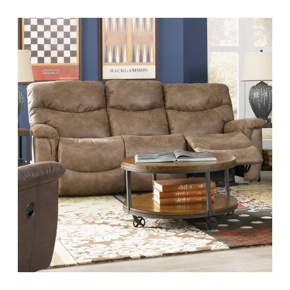 James Power Reclining Sofa w/ Headrest