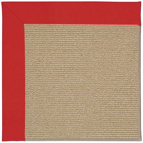 Creative Concepts-Sisal Canvas Jockey Red Machine Tufted Rugs