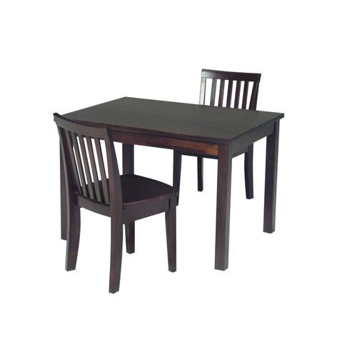 John Thomas Furniture - Juvenile Table in Rich Mocha