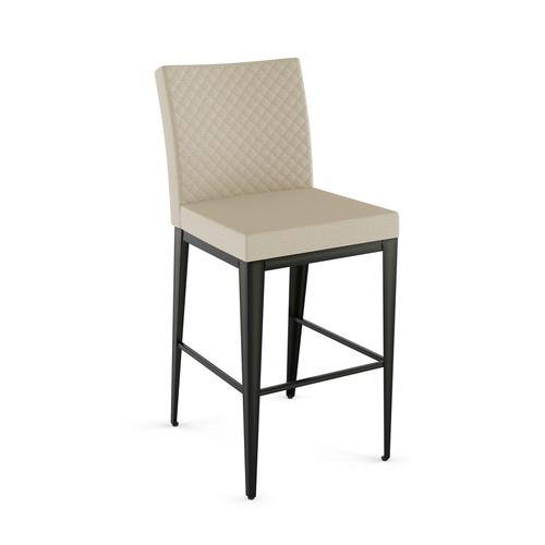 Pablo Plus Non Swivel Stool With Quilted Fabric