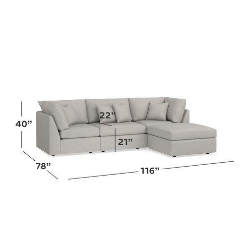Beckham Small Chaise Sectional