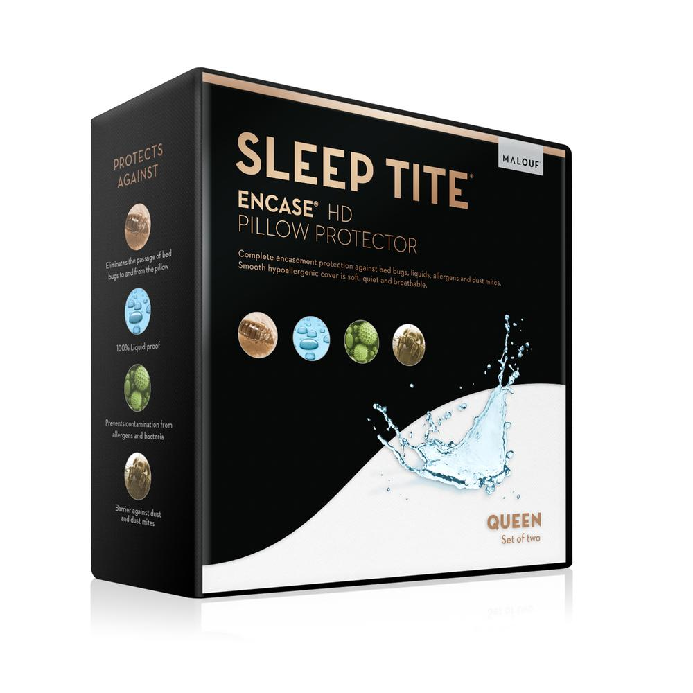Sleep Tite Encase HD Pillow Protector Queen Pillow Protector