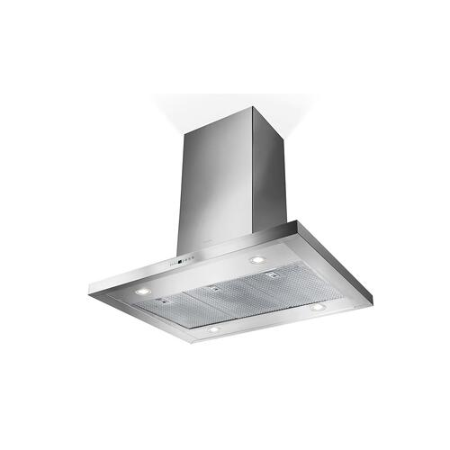 "42"" T-shape chimney island hood"