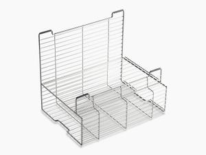 "Stainless Steel Accessory Storage Rack for Stages 33"" and 45"" Sinks Product Image"