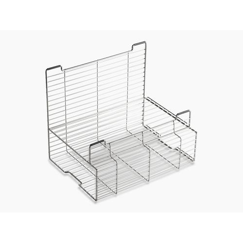 """Stainless Steel Accessory Storage Rack for Stages 33"""" and 45"""" Sinks"""
