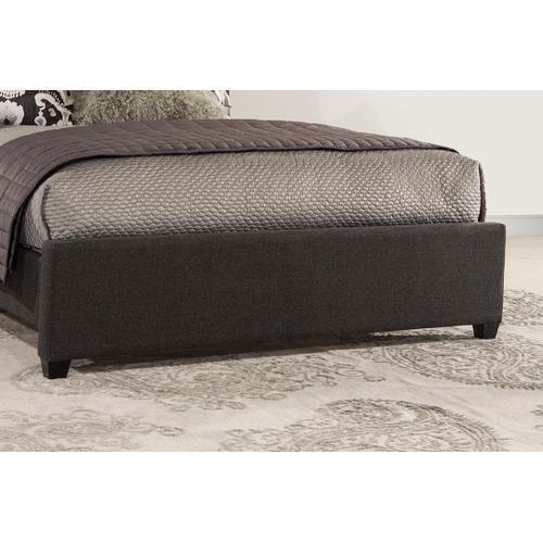 Churchill King Bed - Onyx Linen