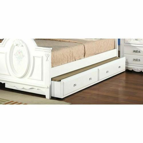 ACME Flora Trundle (Twin) - 01683-TRN - White