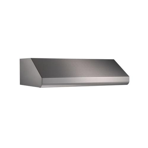 Broan Elite E64 Pro-Style 36-Inch Under-Cabinet Range Hood w/ 600 CFM Internal Blower & Light, Stainless Steel