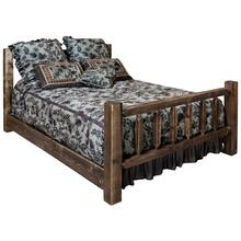 Homestead Collection Spindle Style Beds, Stain and Lacquer Finish