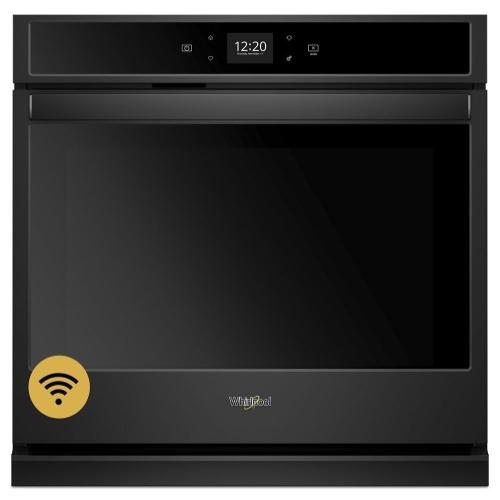 Whirlpool - 5.0 cu. ft. Smart Single Wall Oven with Touchscreen