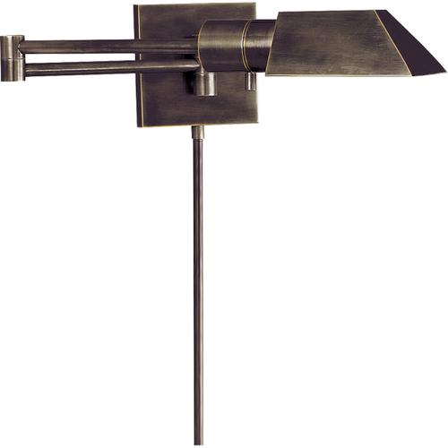 Studio 24 inch 40 watt Bronze Swing-Arm Wall Light