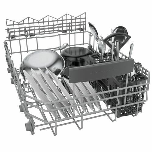 Bosch - 800 Series Dishwasher 17 3/4'' Stainless steel SPE68B55UC