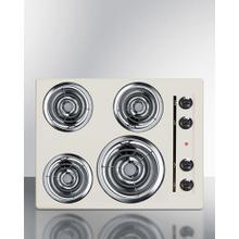 """24"""" Wide 4-burner Coil Cooktop"""