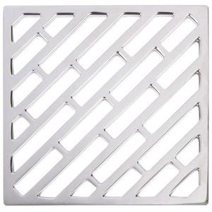 "Forever Brass - PVD 6"" Square Shower Drain Product Image"