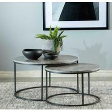 2 PC Nesting Coffee Table