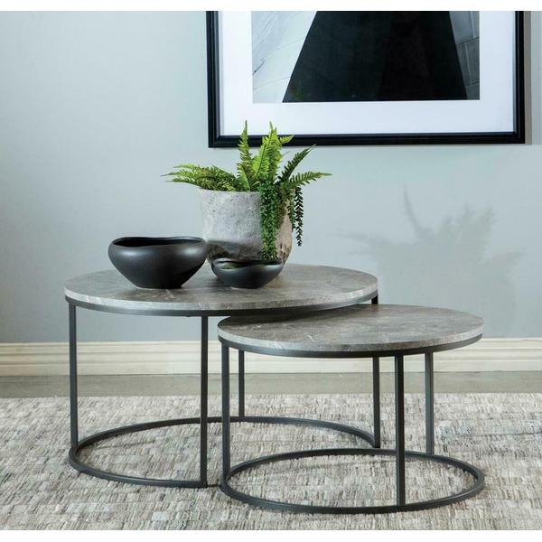 See Details - 2 PC Nesting Coffee Table